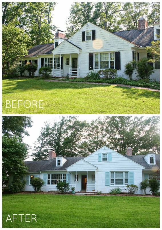 River House Shutters Update Before After