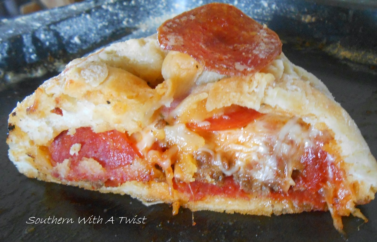 Pepperoni Pizza Burgers Recipe — Dishmaps
