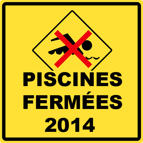 fermeture PISCINE BRUXELLE