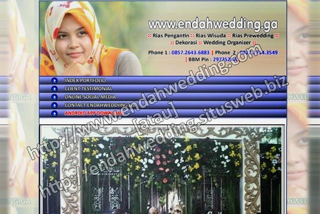 endahwedding.ga - Sudah Online & Siap Diakses sejak : 03 Maret 2015