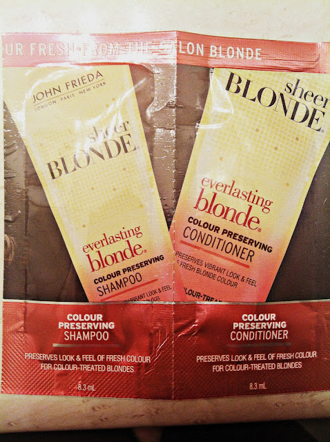 Everlasting Blond color perserving shampoo and conditioner