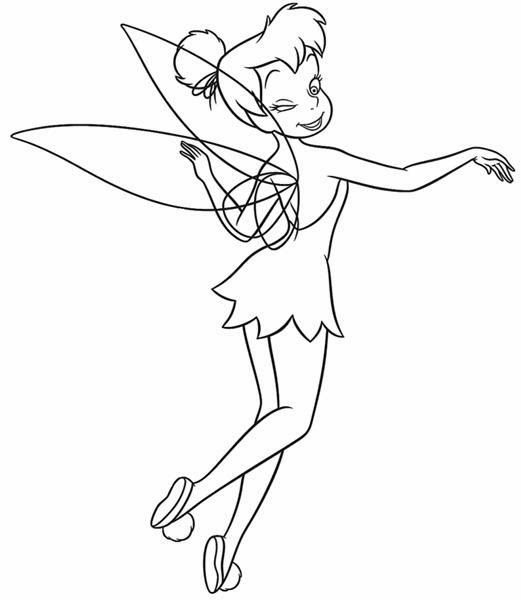 Tinkerbell Coloring Pages | Super Coloring Book