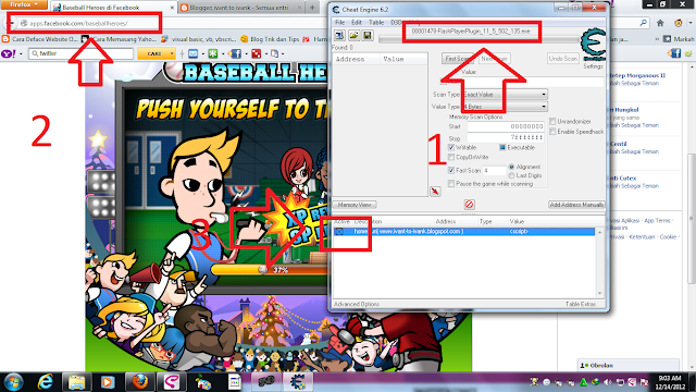 Cheat Baseball Heroes Skill home run | 15 DESEMBER 2012