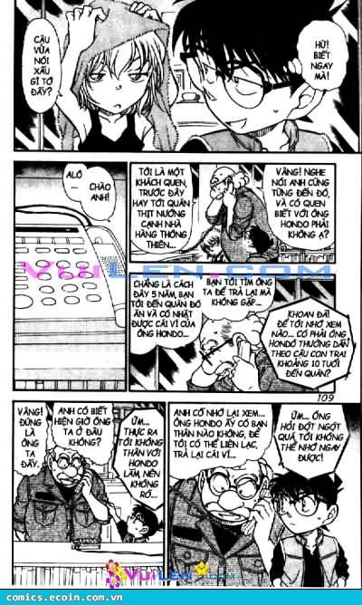 Detective Conan - Thám Tử Lừng Danh Conan chap 582 page 8 - IZTruyenTranh.com