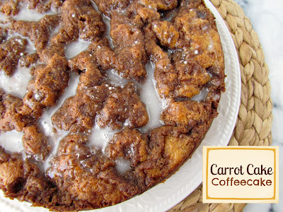 Recipe: Carrot cake coffee cake