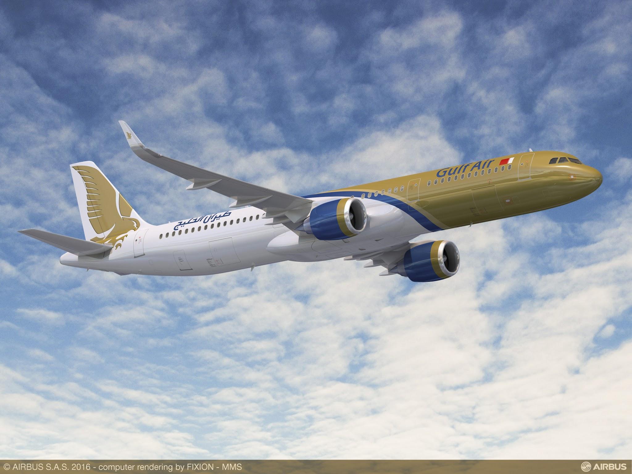 É MAIS QUE VOAR | Gulf Air encomenda 29 aviões da Família A320neo