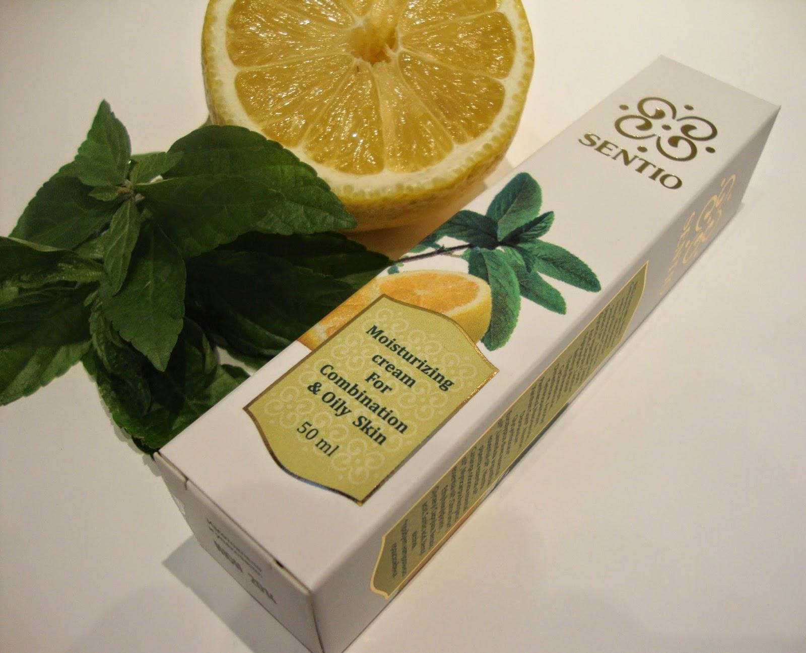 Увлажняющий крем для смешанной и жирной кожи Sentio Moisturizing Cream for Combination & Oily Skin