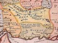 در 1730 میلادی نقشه مستقل بلوچستان