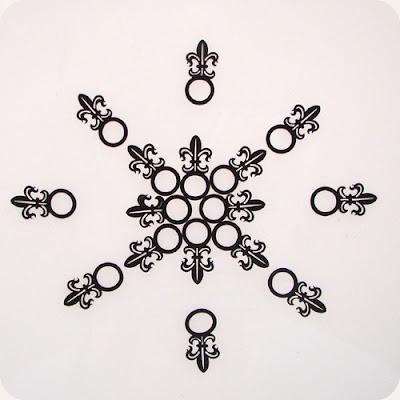 designTUN - anel fleur de lis