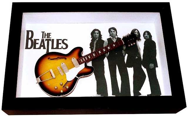 Mini Guitarra Epiphone Casino Sumburst John Lennon