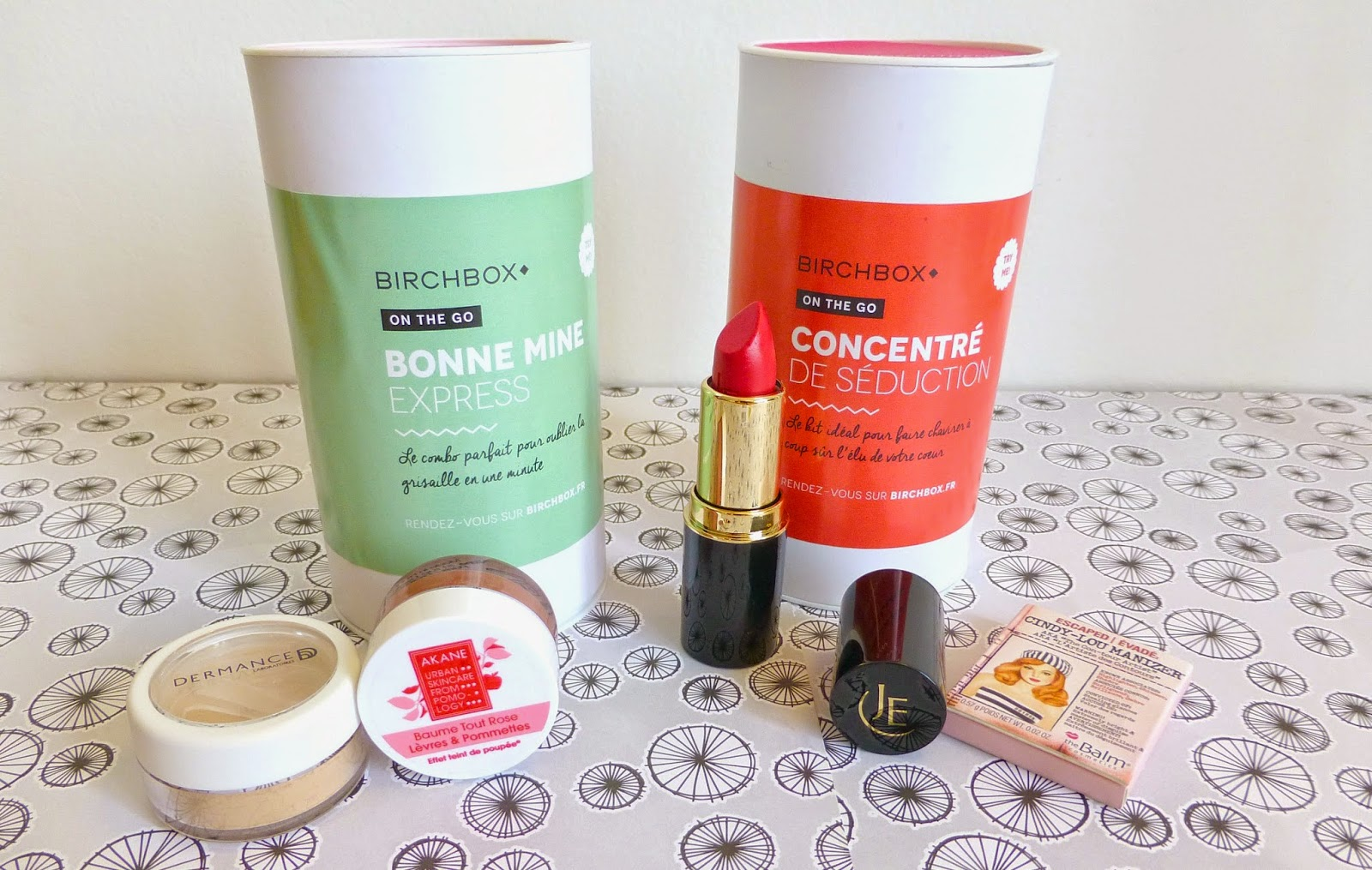 Ces petites boites de Birchbox On the Go!
