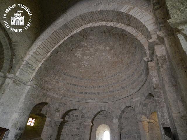 SAINTE-JALLE (26) - Eglise romane Notre-Dame-de-Beauvert (Intérieur)