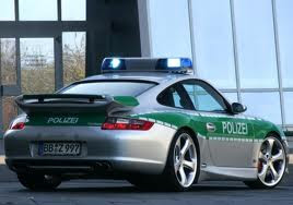 Porsche-911-Carrera-Police-Car-Back