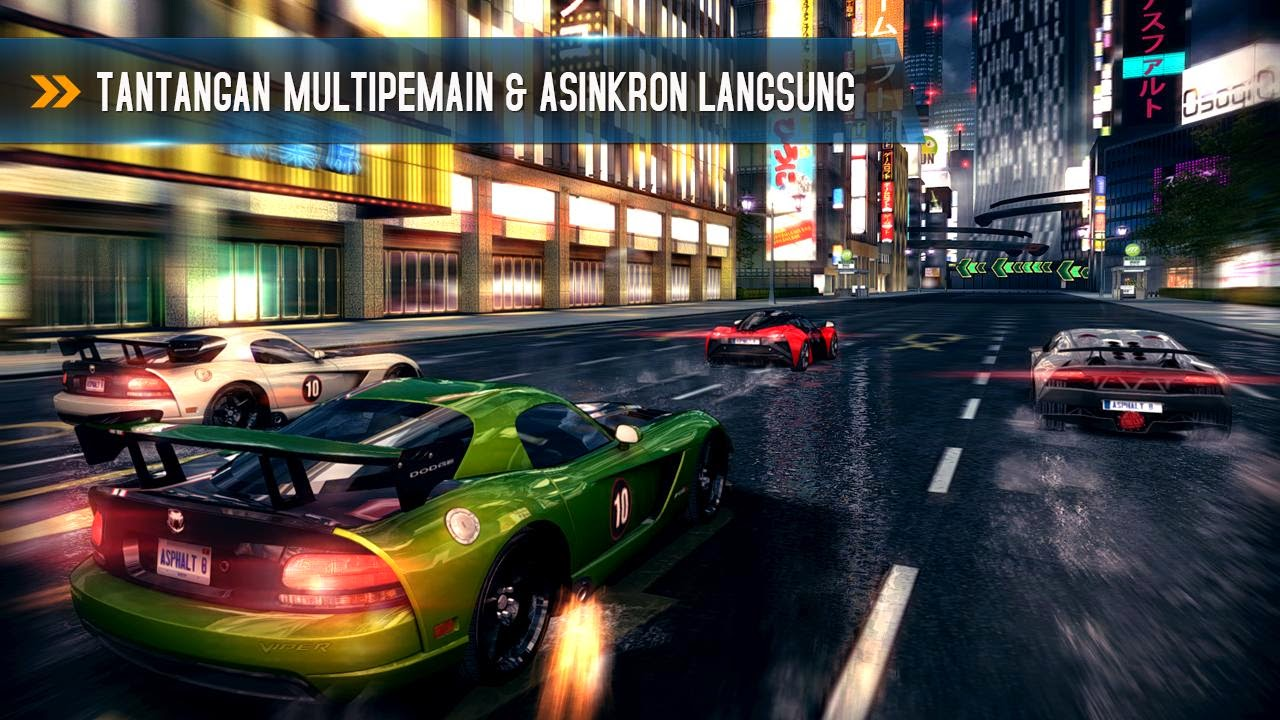 Free Download Game Asphalt 8 Airborne .APK Full Data