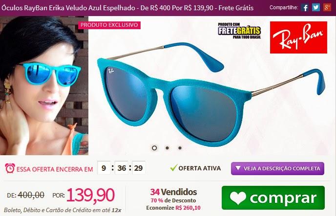 http://www.tpmdeofertas.com.br/Oferta-Oculos-RayBan-Erika-Veludo-Azul-Espelhado---De-R-400-Por-R-13990---Frete-Gratis-971.aspx
