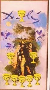 Ocho de Copas- Tarot Dalí