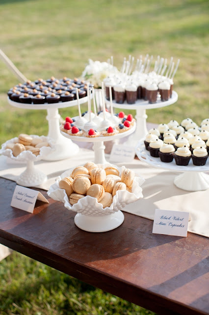 Elegant Vintage Wedding MIni Desserts