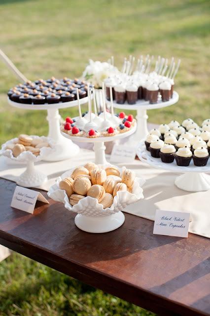 Elegant Vintage Wedding MIni Desserts