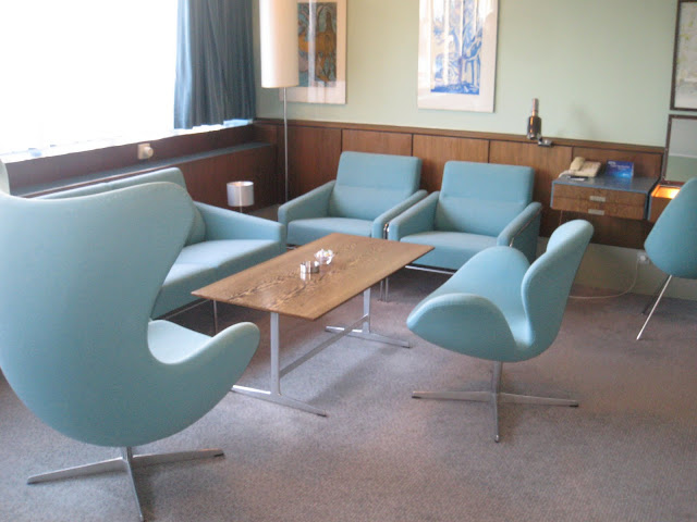 Room 606 in Arne Jacobsen's Radisson SAS Hotel, Copenhagen