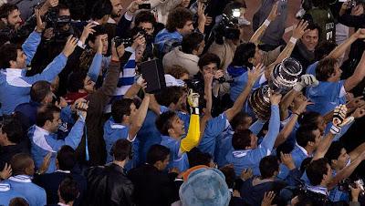 uruguay campeon 2011