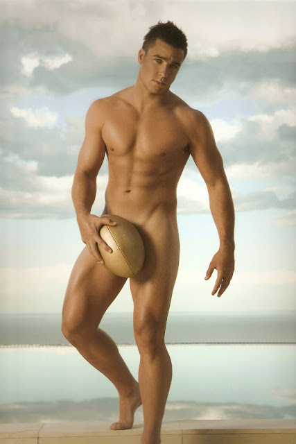 (Wonderful) 2008 charity nude beefcake hunk calendar isn't this the