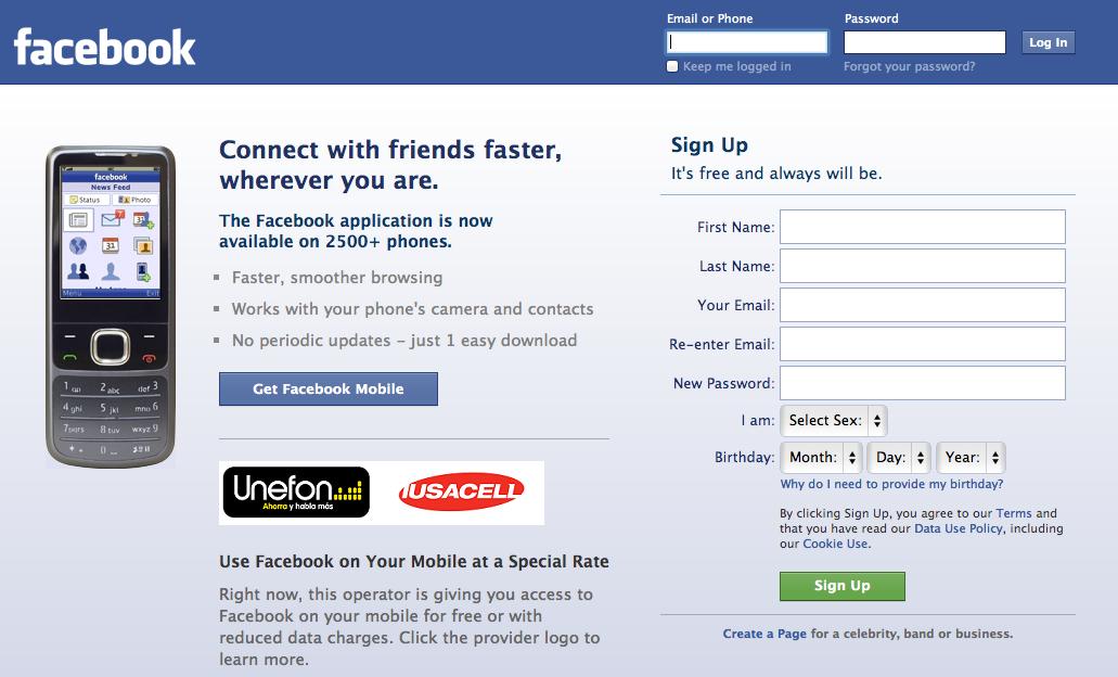 Convierte perfil personal de facebook a una fan page
