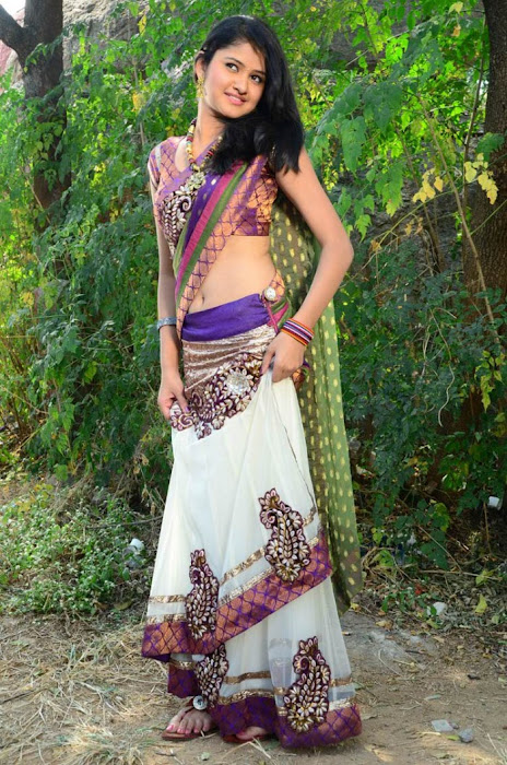 kausalya in saree glamour  images