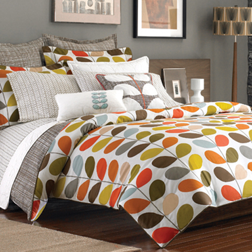 Bed sets and curtains to match curtains home design ideas - The Pink Chalkboard Orla Kiely At Bed Bath And Beyond