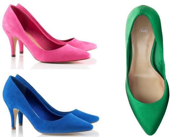 O conforto dos sapatos de saltos baixos
