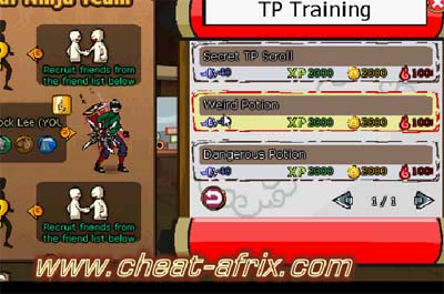 cheat ninja saga januari 2013 with cheat engine | SuksesCom