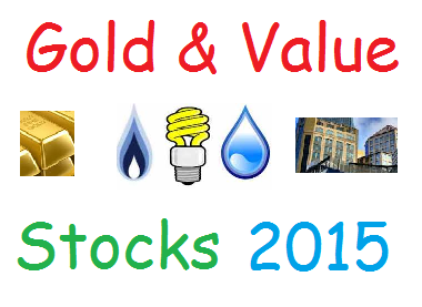 top gold & value stocks 2015