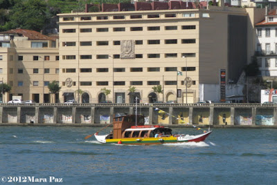 Barco tipico no Rio Douro