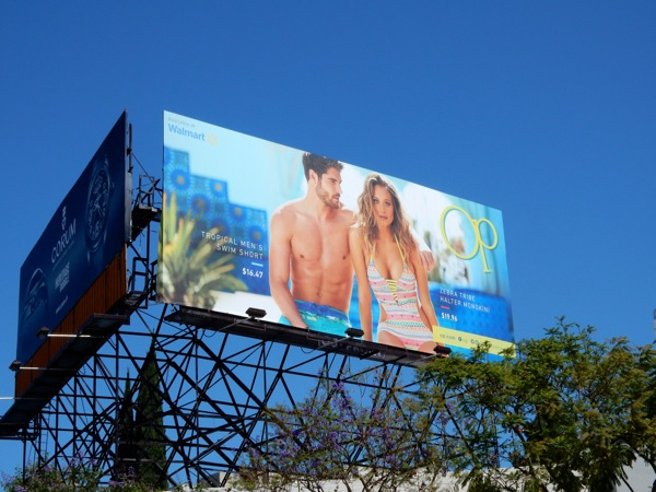 OP swimwear 2015 billboard