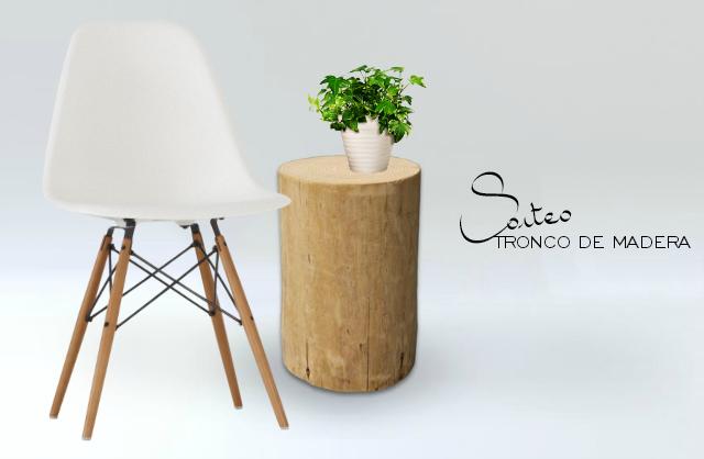 SORTEO tronco de madera LUFE