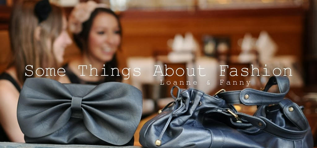 Some Things About Fashion
