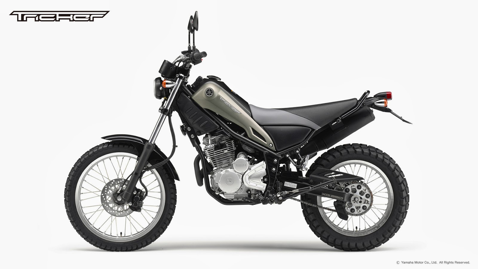 planet japan blog  yamaha tricker 250 2014