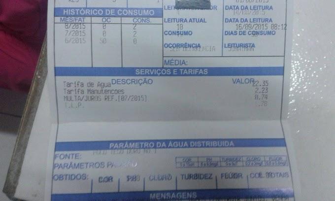 "DENÚNCIA: SAAE de Caxias cobra taxa de limpeza e ""ruas do Teso Duro continuam sujas"", diz morador."