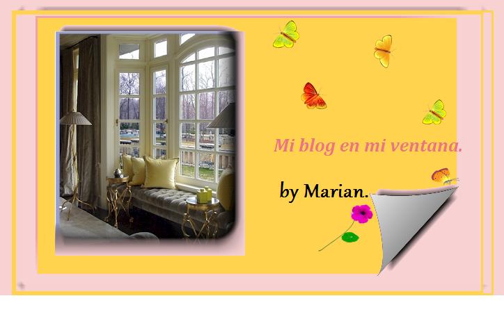 Mi blog en mi ventana.