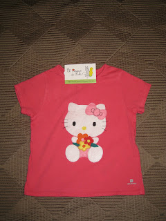 camiseta-niña-fieltro-hello-kitty