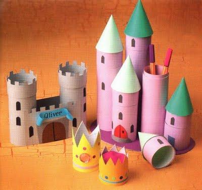 Educa o infantil arte com rolinhos de papel for Colgadores para papel higienico