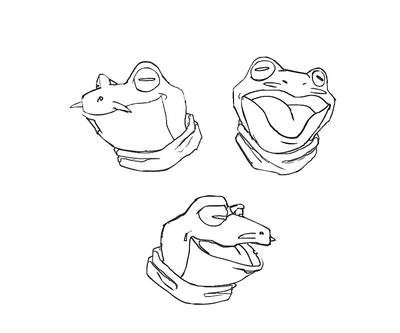 printable-frog-face-coloring-pages