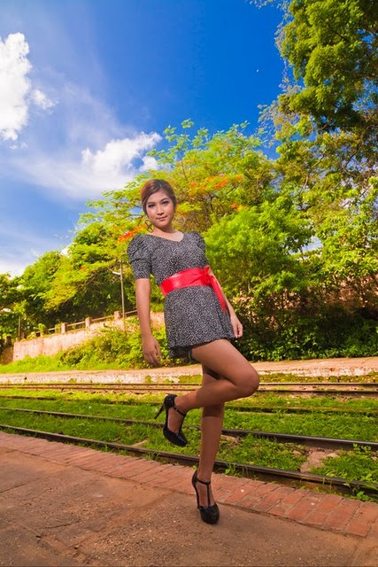 Maw Phu Maung, burma model