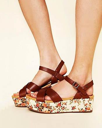sepatu flat platforms