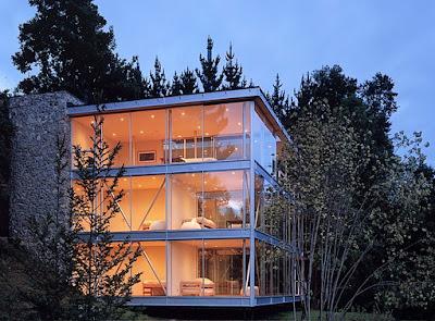 Casas de cristal y acero