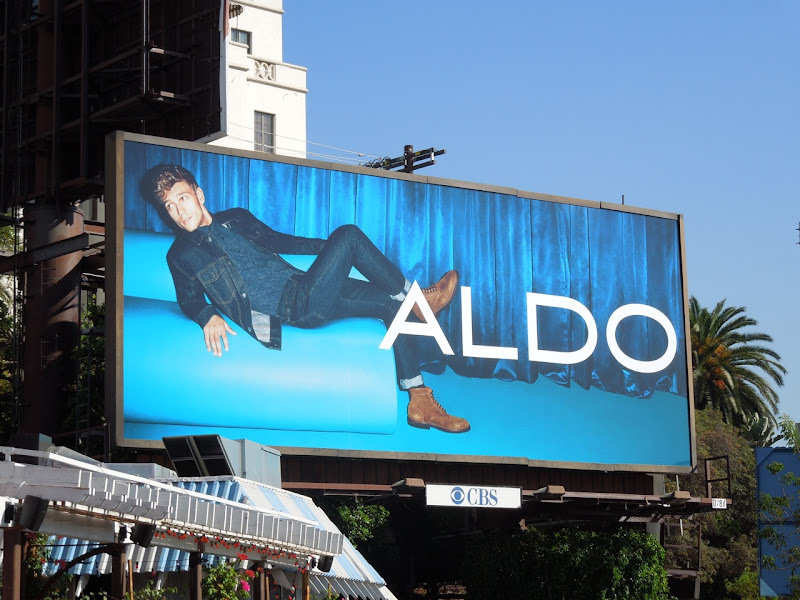 Aldo Shoes Benjamin Eidem denim billboard