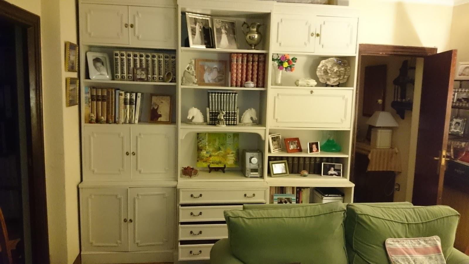 Como Modernizar Un Mueble De Salon Latest Pequeito Salon Con