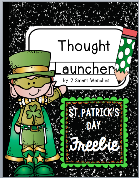https://www.teacherspayteachers.com/Product/St-Patricks-Day-Thought-Launcher-FREEBIE-1737527
