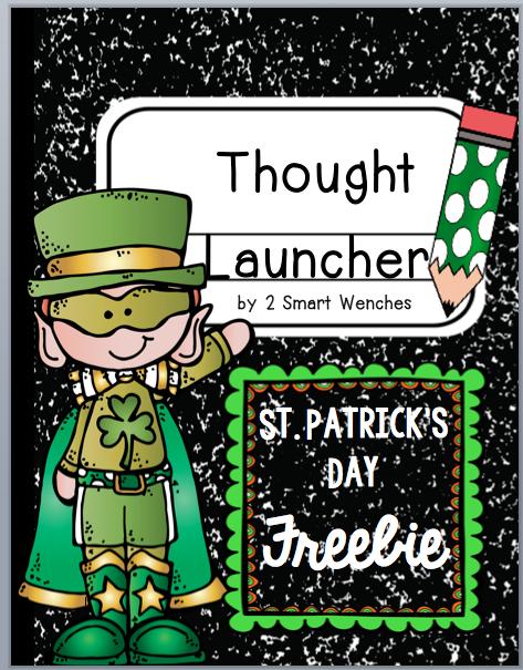 https://www.teacherspayteachers.com/Product/St-Patricks-Day-Thought-Launcher-FREEBIE-1737527