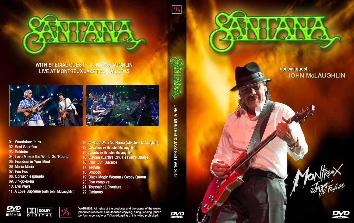 Montreux Jazz Festival 2015 >> Youdiscoll Santana Montreux Jazz Festival 2015