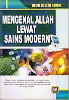 toko buku rahma: buku MENGENAL ALLAH LEWAT SAINS MODERN, pengarang abdul rozzaq naufal, penerbit pustaka setia
